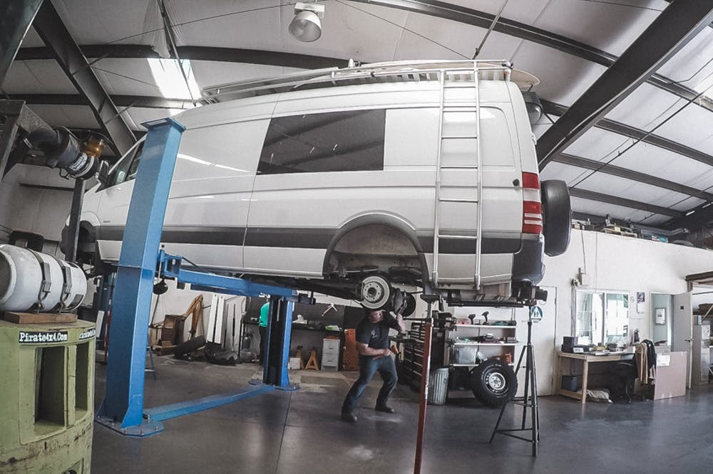 sprinter lift van compass
