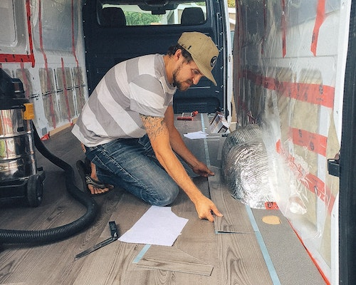 sprinter van flooring