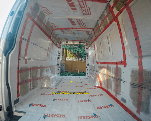 sprinter van insulation