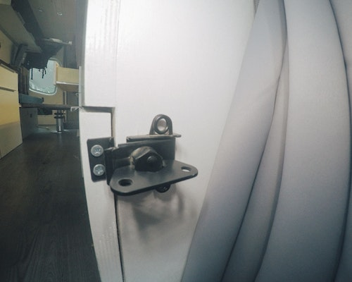 fridge cabinet latch