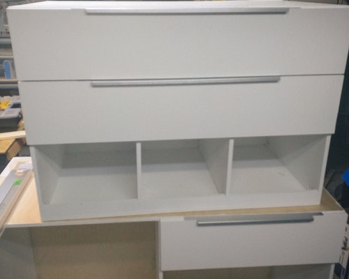 van cabinet drawer