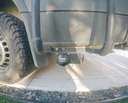 sprinter grey water tank