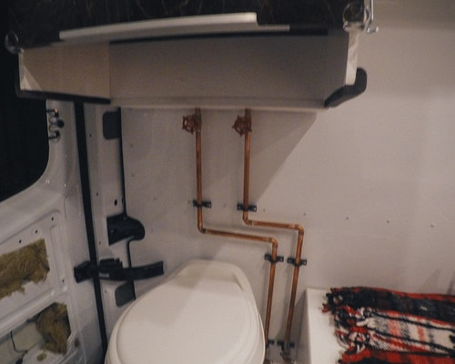 van shower valves
