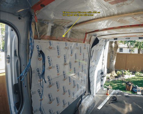 sprinter van wall panel
