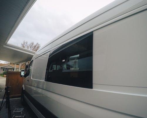 sprinter van window install