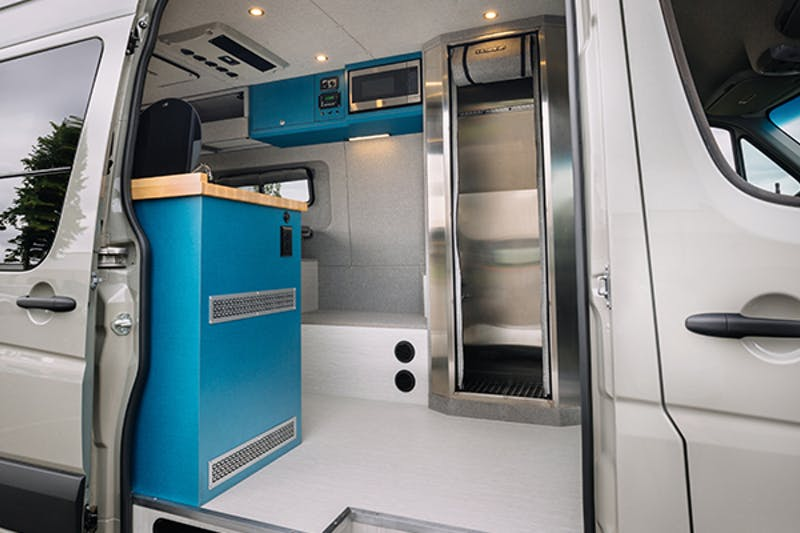3 Most Common Camper Van Bathroom Options With Pros Cons The Wanderful