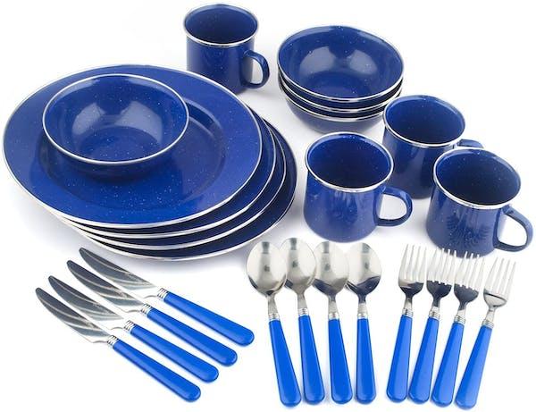 Enamel Tableware Set
