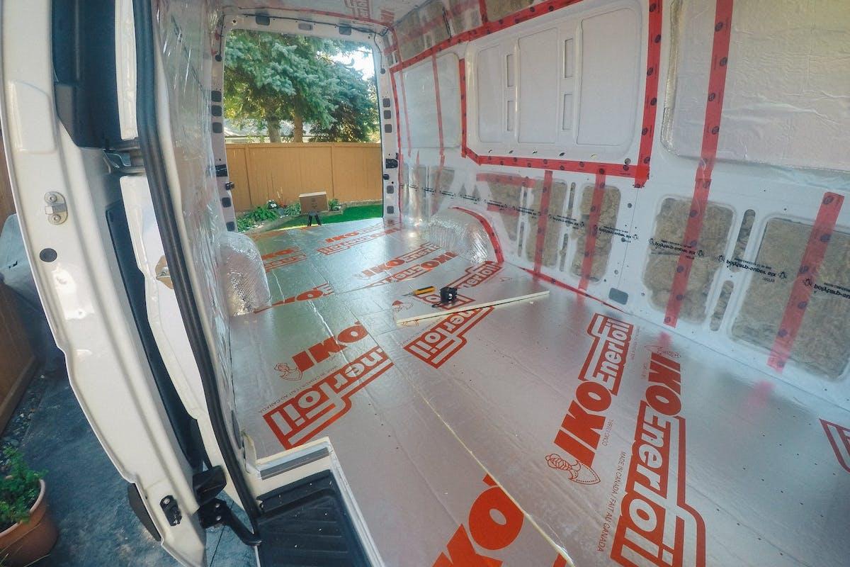 Sprinter Van insulation