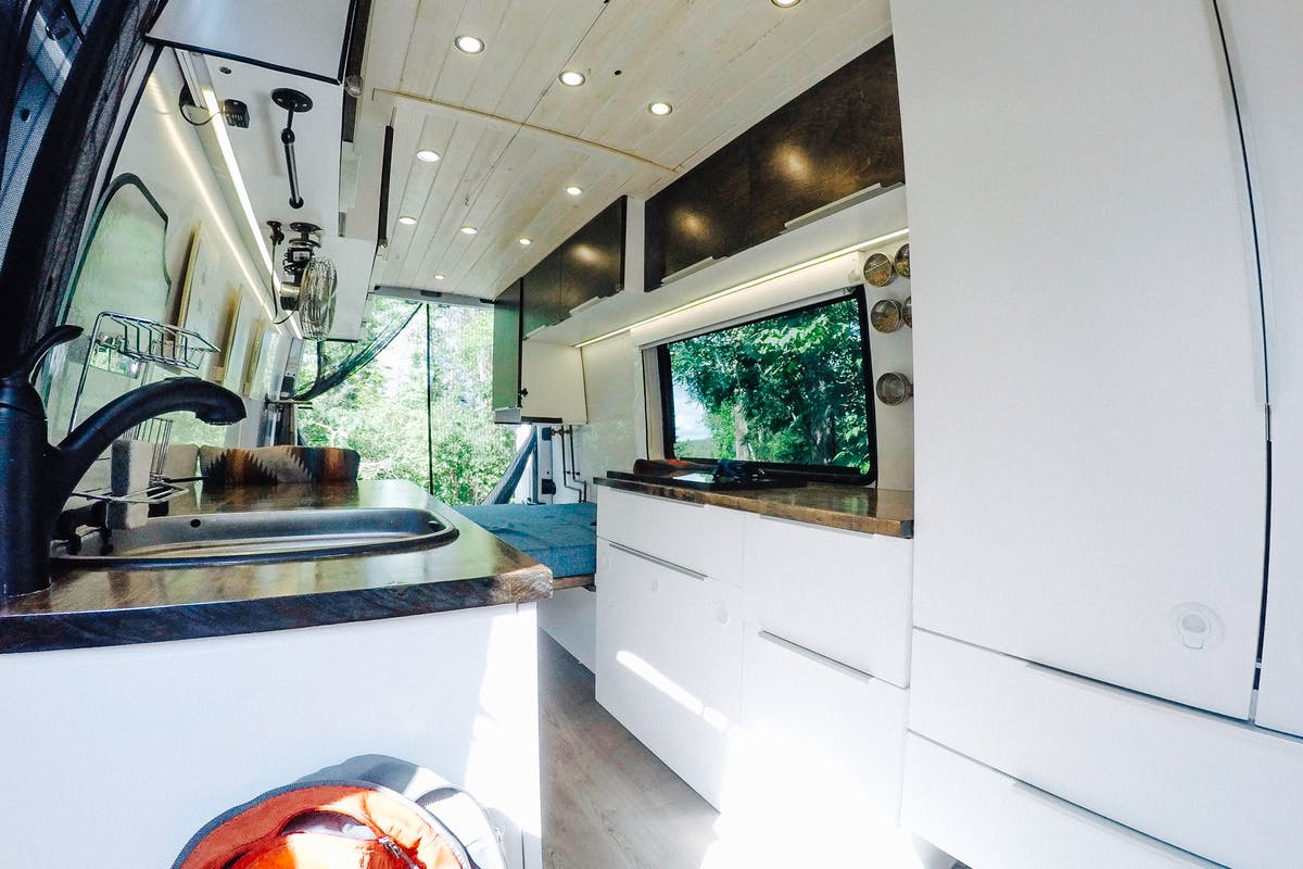 Sprinter Van Interior
